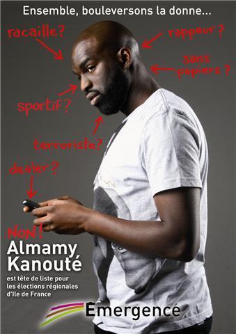 Almamy kanouté, tête de liste EMERGENCE